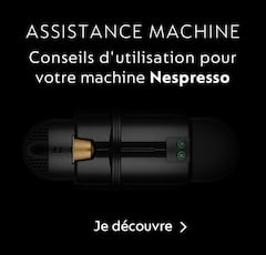 Assistance machines Nespresso