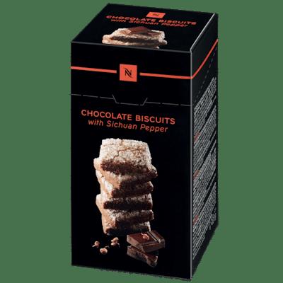 Voir Biscuits au chocolat et au poivre du Sichuan