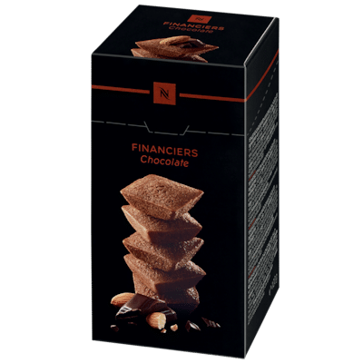Voir Financiers chocolat